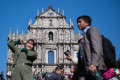 The famous Ruins of St. Paul's complex in Macau, a major tourist attraction. Photo: Xinhua