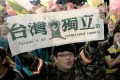"""Mainland China's state media s """"external dark forces"""" played a part in the election result in Taiwan. Photo: Kyodo"""