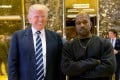 Donald Trump with Kanye West, two men who might be afflicted with the Dunning-Kruger effect. Photo: AP