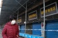 The Huanan Wholesale Seafood Market has been closed since January 1. Photo: AFP
