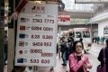 The Hong Kong Monetary Authority currency board subcommittee monitors and reports on the linked exchange rate system that pegs the Hong Kong dollar against the US dollar between a range of 7.75 to 7.85. Photo: Bloomberg