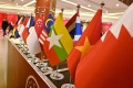 The national flags of various countries attending the 35th Asean Summit in Bangkok on November 4, 2019. Photo: AFP