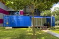 In Singapore, this shipping container costs up to S$200 a night to stay in. Photo: Handout