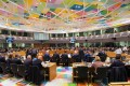 A general view of the European Foreign Affairs Council meeting on Libya in Brussels. Photo: Handout