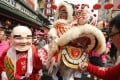 Revellers at a Lunar New Year parade in Bangkok on February 10, 2013. File photo: EPA