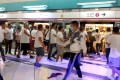 The attackers went after travellers and protesters inside Yuen Long station on July 21. Photo: SCMP Pictures
