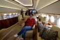 With the Lunar New Year approaching, China's richest people will again start chartering private planes to take them away from it all. Photo: AFP