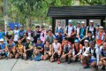 The start line of the 2020 Hong Kong Four Trails Ultra Challenge (HK4TUC). Twenty-six runners were still going after the first 24 hours. Photo: PhotoGuava