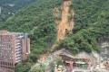 A heavy storm in June 2008 triggered 347 landslides, including this one at the University of Hong Kong. Photo: Civil Engineering and Development Department.