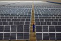 China has invested billions of dollars in green energy, including solar, but is still heavily reliant on coal for its electricity. Photo: Reuters
