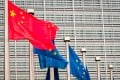 Only 4 per cent of respondents thought China-EU relations would improve this year. Photo: Bloomberg