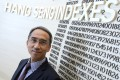 Vincent Kwan, chief executive officer, Hang Seng Indexes Company. Photo: Dickson Lee