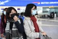 On Wednesday, British Airways and Lufthansa announced they were suspending all flights in and out of China, while a number of other airlines have scaled back their services to China. Photo: EPA
