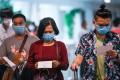 Passengers arrive at the Kuala Lumpur International Airport. Photo: AFP