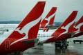 Qantas aircraft seen on the tarmac at Melbourne International Airport. Photo: Reuters