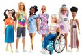 The 2020 additions to Mattel's Barbie Fashionistas line include a doll with vitiligo and a Barbie with a prosthetic leg.