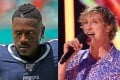 Antonio Brown and Logan Paul are increasingly likely to face each other in a boxing ring. Photo: TNS, AP