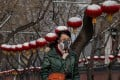 Beijing has been unable to stem panic selling amid an escalating coronavirus epidemic. Photo: Agence France-Presse