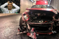 How did Cristiano Ronaldo wreck his Ferrari? Photos: Luxurylaunches