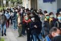 Hongkongers queued to get hold of masks to protect themselves from coronavirus. Photo: May Tse