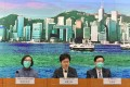 Chief Executive Carrie Lam addresses a press conference on February 5 to announce additional border control measures. As of midnight February 8, Hong Kong will require all inbound travellers from mainland China to undergo mandatory quarantine for 14 days to further curb the spread of the novel coronavirus. Photo: Xinhua