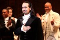Lin-Manuel Miranda in his final performance as Alexander Hamilton in Hamilton on Broadway at the Richard Rogers Theatre, New York. Disney is set to bring the musical to the big screen. Photo: Bruce Glikas