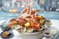 Eating seafood helps strengthen your immune system and prevent cell damage. Photos: Handouts