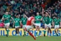Ireland overcame Wales at the Six Nations Championship in Dublin on Saturday. Photo: Reuters