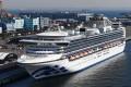 The Diamond Princess cruise ship is docked at the port of Yokohama. Photo: AFP
