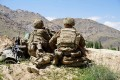 US soldiers in Afghanistan in June. Photo: AFP