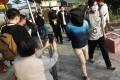 Wong Wai-yin faces one count of making explosive substance dinitrotoluene (DNT) on January 16 near Ng Uk Tsuen in Sheung Shui. Photo: May Tse