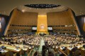 The conference room of the UN General Assembly in New York.