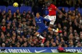 Manchester United's Ivorian defender Eric Bailly made an impressive return to action at Stamford Bridge. Photo: AFP