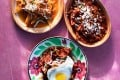 Chilaquiles from Bricia Lopez's cookbook, Oaxaca.