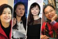 Zhou Qunfei, Lucy Peng Lei, Yang Luhan and Gong Haiyan are among the Chinese female entrepreneurs who prove gender shouldn't be a barrier to business success. Photos: AFP/Bloomberg/Getty/Nick Otto
