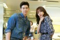 Han Hyo-joo (right) and Lee Jong-Suk in the television series W (2016). Han celebrates her 33rd birthday today. Photo: Handout