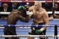 Tyson Fury dominates Deontay Wilder in their heavyweight title fight. Photo: EPA