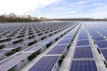 File photo of solar panels at a floating solar farm in Renchen, Germany. Photo: Bloomberg