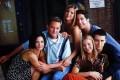 Friends stars (from left): Courteney Cox, Matthew Perry, Jennifer Aniston, David Schwimmer, Lisa Kudrow and Matt LeBlanc. Photo: NBC/TNS