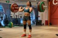 Chen Aichan working out in Shanghai. Chen said she was inspired by her homeland to win the CrossFit Open this year. Photo: Handout