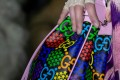 Gucci's GG Psychedelic collection explodes with colour. Photo: Gucci