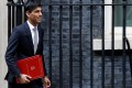 Britain's Chancellor of the Exchequer Rishi Sunak outside Downing Street in London on February 14. He is under pressure to increase public spending in his budget to be delivered on March 11. Photo: Reuters