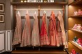 Bridal dresses and accessories by Indian fashion designer Anita Dongre at her store in Mumbai. Photo: AFP