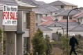 A newly-built home in a new housing development in a north-western suburb of Sydney up for sale on August 2, 2006. Photo: Reuters