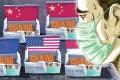 Demand for masks due to the coronavirus outbreak has exhausted China's stockpile and emptied shelves around the world. Illustration: Lau Ka-kuen