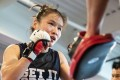 Zhang Weili trains at the UFC Performance Institute in Las Vegas. Photo: Handout