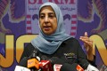 Malaysian Anti-Corruption Commission chief commissioner Latheefa Koya has resigned, saying she wanted to return to her work as a human-rights activist. Photo: Reuters