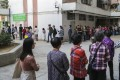 Long queues at polling stations, such as this one in Choi Wan South, has led to a priority voting proposal from Hong Kong's election watchdog. Photo: Edmond So