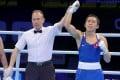 Rex Tso is declared the winner in Amman, Jordan. Photo: Olympic channel