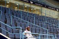 The stands are seen empty after the decision of the Saudi Ministry of Sports. Photo: Reuters